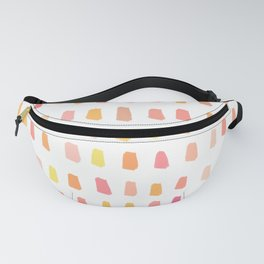 Vibrant abstract Fanny Pack