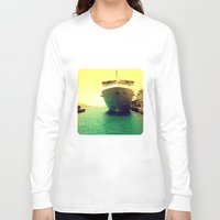 boat Long Sleeve T-shirts featuring Boat by chauloom
