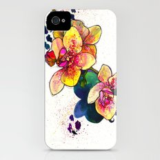 Inky Orchid Slim Case iPhone (4, 4s)