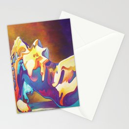 The United Colours of Orgasm Thermal Nude Stationery Cards
