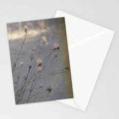 winter dust Stationery Cards