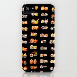Sushi set iPhone Case