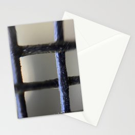 Microscopic photography black net Stationery Cards