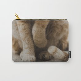 Coquettish Cat in Israel Carry-All Pouch