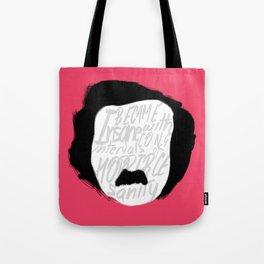 Edgar Allan Poe: Insanity Tote Bag