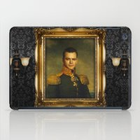replaceface iPad Cases featuring Matt Damon - replaceface by replaceface