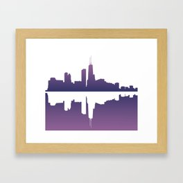 Chicago Afternoon Framed Art Print