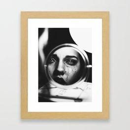 Exhaustion Framed Art Print