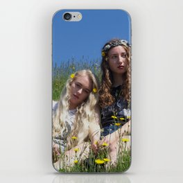 Flowers in Your Hair 1 iPhone Skin