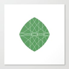 #269 Chameleon – Geometry Daily Canvas Print