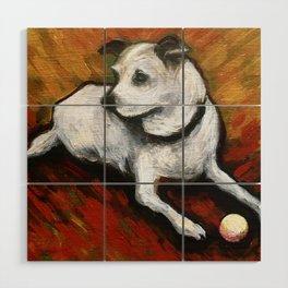 Dog Days Wood Wall Art