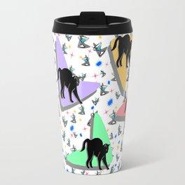 Retro Kitty Travel Mug