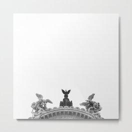 Minimal City III Metal Print