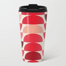 Red Bowls Metal Travel Mug
