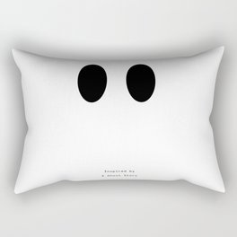 Inspired by : A Ghost Story Rectangular Pillow
