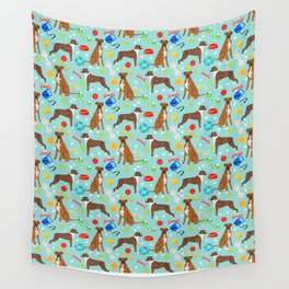 Boxer terrier dog breed pet portrait dog toy cute pet art animal fur baby boxer owner must have gift Wall Tapestry