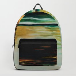 Bathing Sunset Backpack