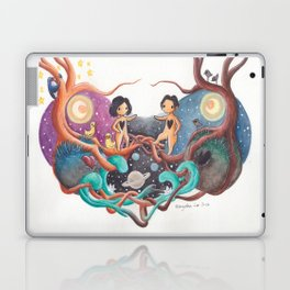 Boy and Girl In A Love World of Their Own Laptop & iPad Skin