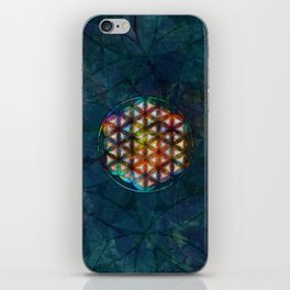 The Flower of Life Symbol iPhone Skin
