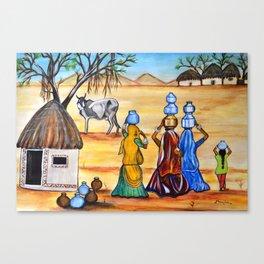 Manthan-Gujrat Women Empowerment Canvas Print
