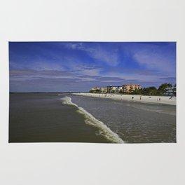 Fort Myers Beach Shoreline Rug