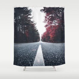 Contrast Way Shower Curtain