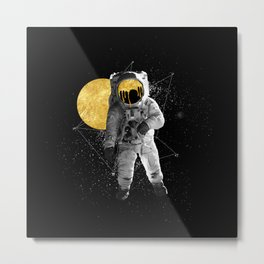 Moon Traveller Metal Print