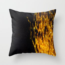 Primary Colors: Yellow Throw Pillow