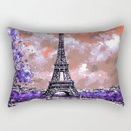 Spring in Paris Rectangular Pillow
