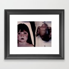 Innocence Torn Asunder Framed Art Print