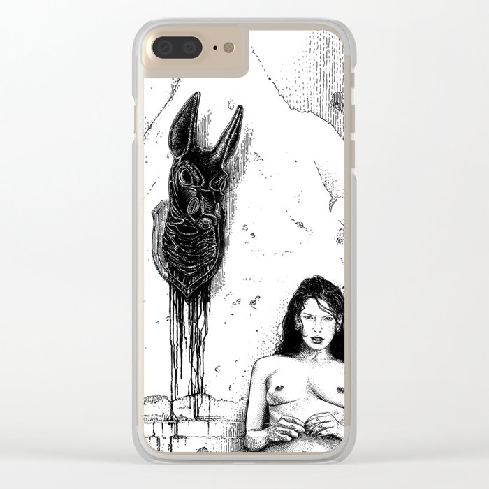 asc 736 - Le trophée (The trophy boyfriend) Clear iPhone Case