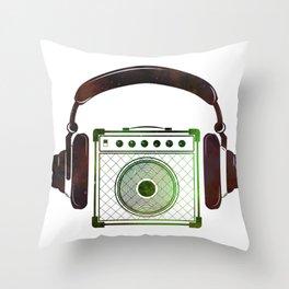 Abstract Amplifier Art Throw Pillow