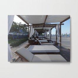 Cabana Metal Print