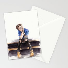 Smiling Harry Styles Stationery Cards