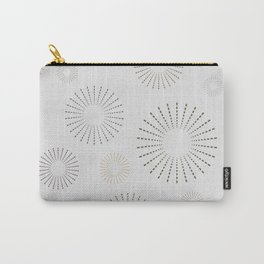 Cute Circle Rays Seamless Pattern Carry-All Pouch