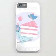 Bluebirds LOVE Birthday Cake Slim Case iPhone 6s