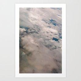 Strange sky Art Print
