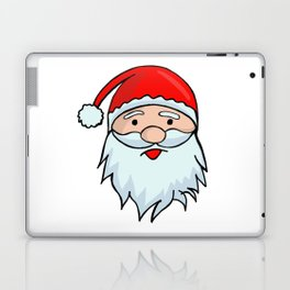 Santa Claus Face - Christmas Xmas Winter Laptop & iPad Skin