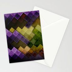 Abstract Cubes GYP Stationery Cards