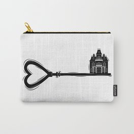 Key - Haunted House Carry-All Pouch