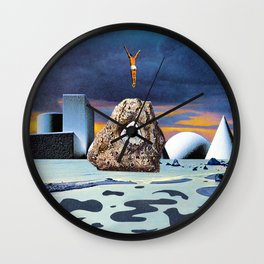 Salt Seeking Salt Wall Clock