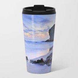 Monsul beach at sunset Travel Mug