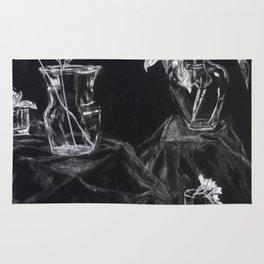 Glass Vases Rug