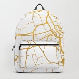 NASHVILLE TENNESSEE CITY STREET MAP ART Backpack