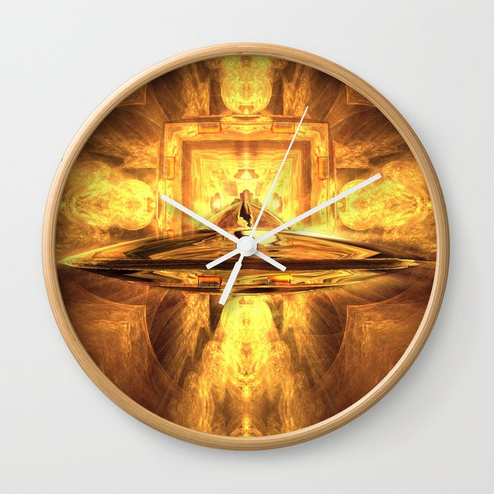 UFO Trip Wall Clock