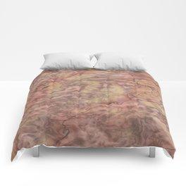 pink marble texture -2- Comforters
