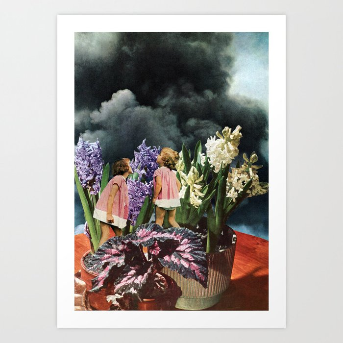 Stop and Smell the _________ Art Print