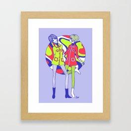 Rainy Day Dollygirls Framed Art Print