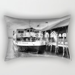 Miss Freedom Rectangular Pillow