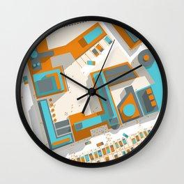 Ground #03 Wall Clock